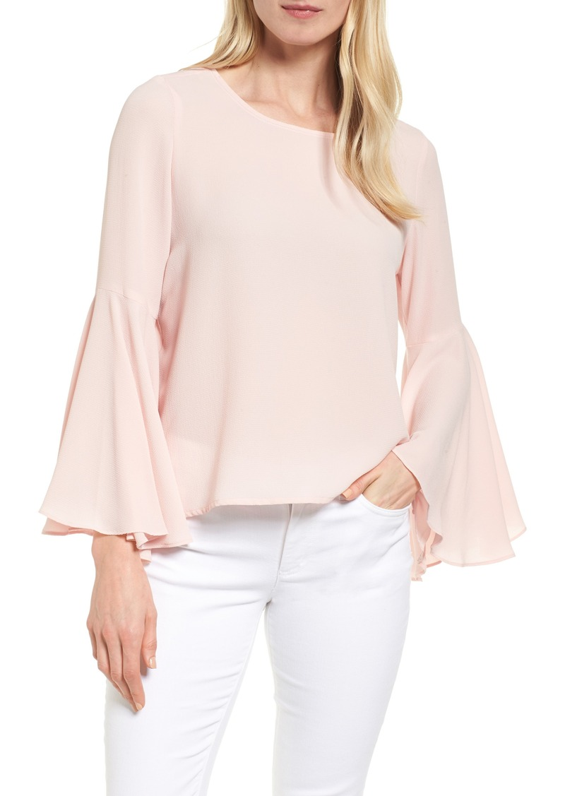 6d296d9c67ab Vince Camuto Vince Camuto Bell Sleeve Blouse (Regular & Petite ...