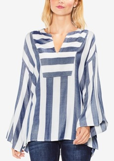 Vince Camuto Bell-Sleeve Caftan Blouse