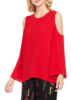 Vince Camuto Bell Sleeve Cold Shoulder Blouse (Regular & Petite)