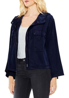 Vince Camuto Bell-Sleeve Hooded Jacket