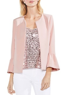 VINCE CAMUTO Bell Sleeve Open Front Jacket