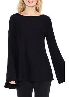 Vince Camuto Bell Sleeve Ribbed Sweater (Regular & Petite)