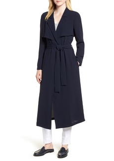 Vince Camuto Belted Long Jacket