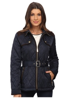Vince Camuto Belted Quilted Jacket J1611
