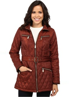 Belted Quilted Jacket L8101