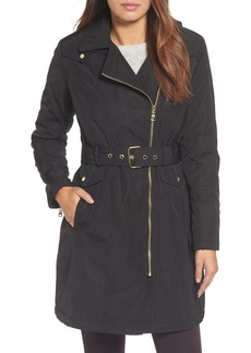 Vince Camuto Belted Raincoat