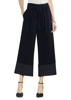 Vince Camuto Belted Wide-Leg Pants