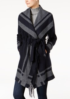 Vince Camuto Belted Wrap Coat