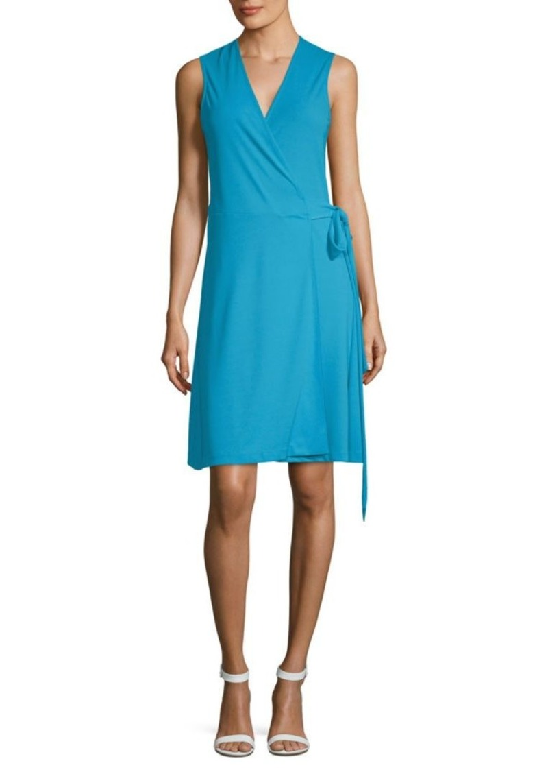 Vince Camuto Belted Wrap Dress