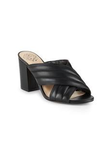 Vince Camuto Bemia Peep-Toe Block-Heel Sandals