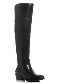 VINCE CAMUTO Bendra Whipstitch Wide Calf Tall Boots