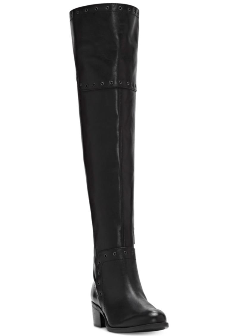 Vince Camuto Bestan Grommet Over-The-Knee Boots Women's Shoes
