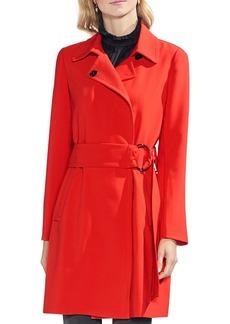VINCE CAMUTO Bi-Stretch Belted Coat