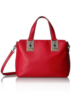 Vince Camuto Bitty Satchel cherry red