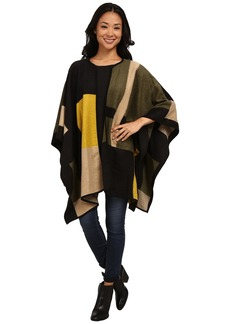 Vince Camuto Blanket Jacquard Poncho