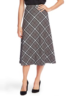 Vince Camuto Bold Plaid Skirt