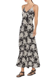 VINCE CAMUTO Botanical Floral-Print Maxi Dress