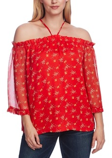 Vince Camuto Bouquet Refresh Off-The-Shoulder Top