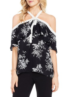 Vince Camuto Bouquet Ruffle Off the Shoulder Blouse