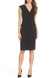 Vince Camuto Bow Sheath Dress