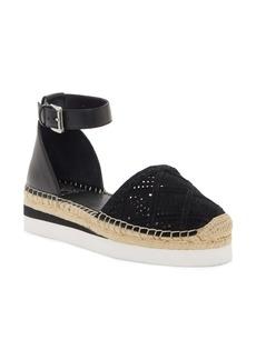 Vince Camuto Brafina Ankle Strap Platform Espadrille (Women)