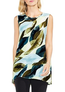 Vince Camuto Breezy Leaves Blouse