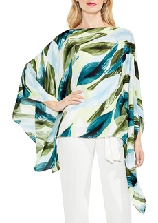 Vince Camuto Breezy Leaves Poncho