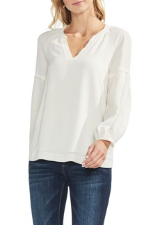 Vince Camuto Bubble Sleeve Blouse