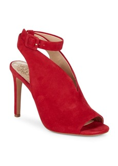 Vince Camuto Caira Suede Ankle-Strap Heels