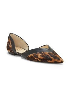 Vince Camuto Caivan Genuine Calf Hair d'Orsay Flat (Women)