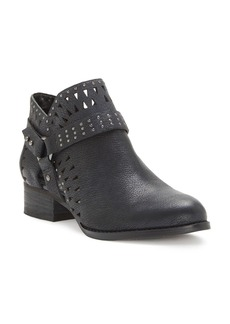 VINCE CAMUTO Calley Cutout Stud Strap Booties