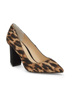Vince Camuto Candera Pointed Toe Genuine Calf Hair Pump (Women)