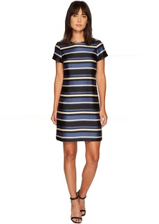Vince Camuto Cap Sleeve Modern Chords Shift Dress