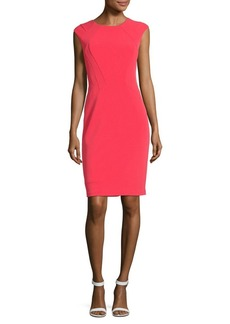 Vince Camuto Cap Sleeve Sheath Dress