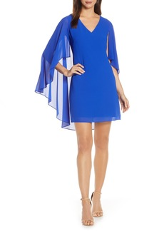 Vince Camuto Cape Back Shift Dress (Regular & Petite)
