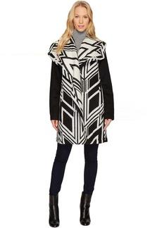 Cascading Wool Coat N8511