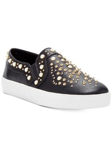 Vince Camuto Casintia Pearl-Studded Sneakers Women's Shoes