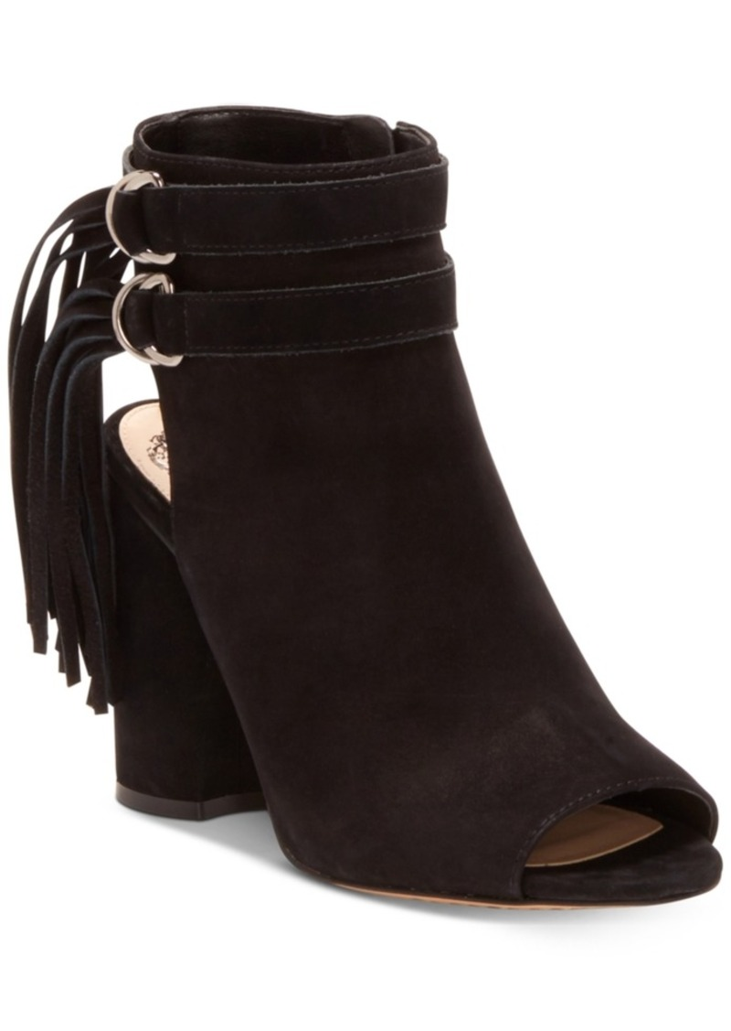Vince Camuto Catinka Fringe Shooties Women's Shoes