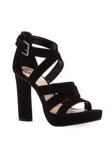 Vince Camuto Catyna Velvet Platform Sandals