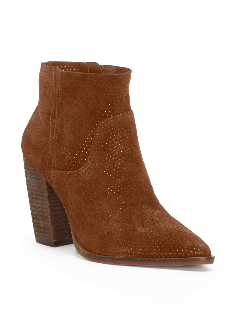 Vince Camuto Cava Perforated Pointy Toe Boot (Women)