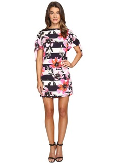 Vince Camuto CDC Shift Dress with Knotted Sleeves