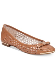 Vince Camuto Celindan Perforated Ballet Flats Women's Shoes