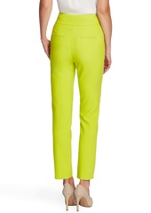 Vince Camuto Center Seam Stretch Crepe Skinny Trousers