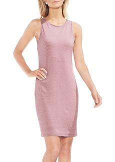 Vince Camuto Chantelle Pinstripe Body-Con Dress