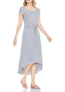 VINCE CAMUTO Charter Mini-Stripe Midi Dress