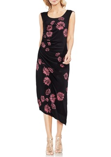 Vince Camuto Chateau Floral Side Ruched Body-Con Dress