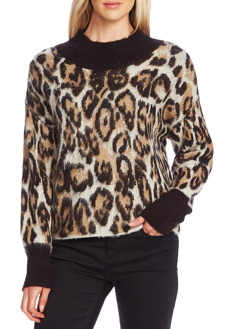 Vince Camuto Cheetah Sweater