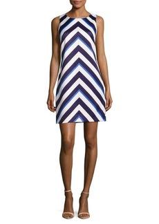 Vince Camuto Chevron Sleeveless Dress