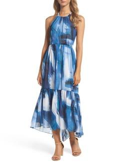 Vince Camuto Chiffon Maxi Dress (Regular & Petite)