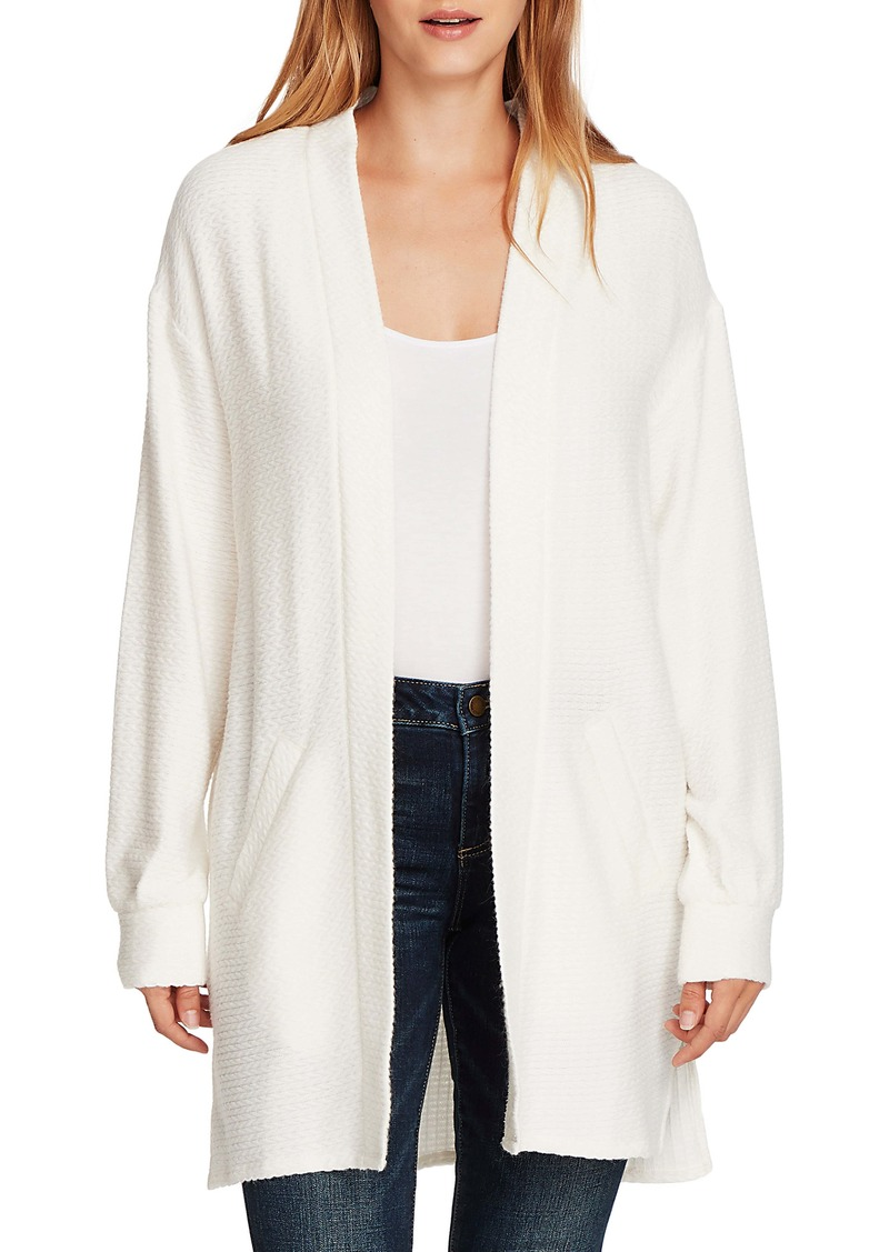 Vince Camuto Cinch Back Cable Knit Cardigan